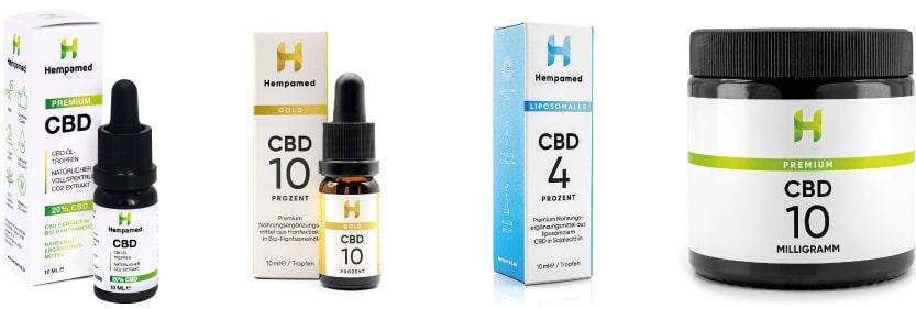 Die Hempamed CBD-Produkte im Test