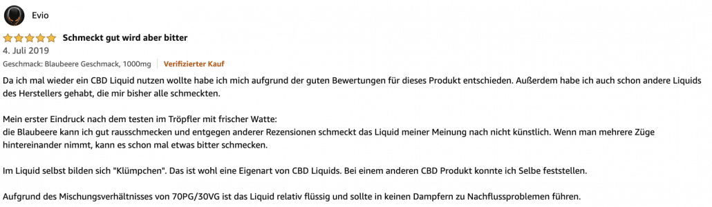 erfahrungsbericht cbd liquid