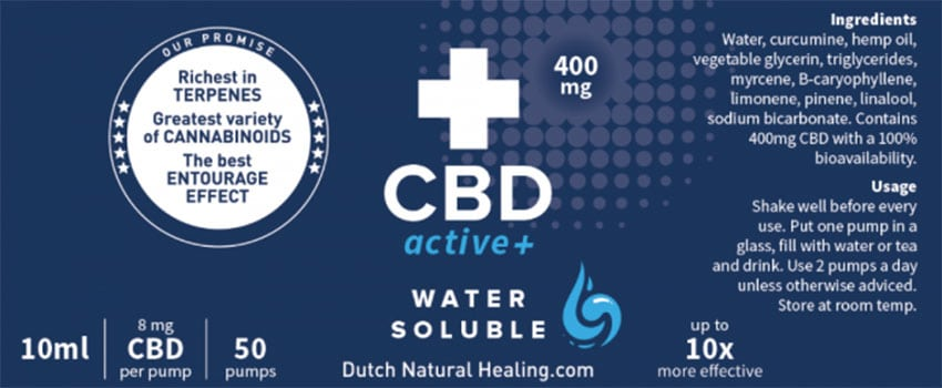 CBD Active+