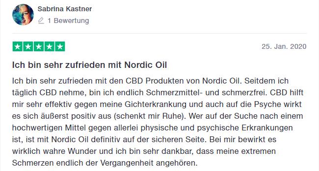 dritter Erfahrungsbericht Nordic Oil